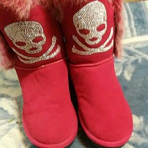 Shoes - skull boots